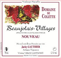 Beaujolais-villages nouveau