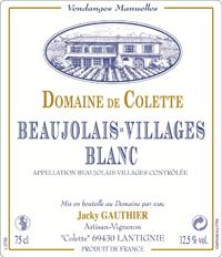 Beaujolais-villages blanc