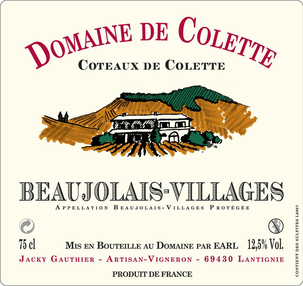 Beaujolais-villages Coteaux de Colette